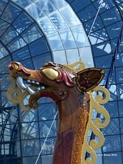 Draken Harald Hårfagre Dragon Head (featfannyc) Tags: newyorkcity nyc september2016 downtownmanhattan drakenharaldhårfagre