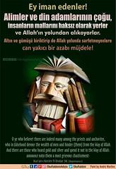 Kerim Kur'an - 9-34. (Oku Rabbinin Adiyla) Tags: allah kuran islam ayet ayetler ayetullah hadis hadisler dua dualar din islamic torah bible holybook monk imam father muslim
