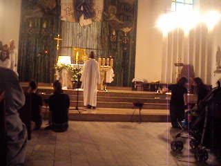 16.10.2011 - Pantomima ewangelizacyjna podczas Wieczoru Chwały - Rojca