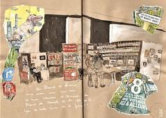 Ici et Ailleurs à Brest (bigoudene46) Tags: brest icietailleurs festival stand dessinsurlevif usk carnetdevie bigoudene46