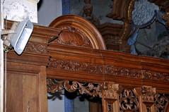 "Steene, Nord, Flandre, ""Église Saint-Martin"", choir stalls, north side (groenling) Tags: steene nord hautsdefrance pasdecalais flandre france fr églisesaintmartin stalls stalles koorbanken wood carving woodcarving hout snijwerk houtsnijwerk boiseries anno colesson"