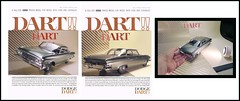 FAUX 1961 Dodge Dart Ads (Michael Paul Smith) Tags: 1961 dadge dart 118th scale resin cast model faux advertising setup shot