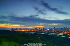 Sunset Clouds Of Hong Kong @ 2017-06-29 (kuno mejina) Tags: allmountainphotographyofhongkong canon canonef24mmf14liiusm hongkong landscape magicmoments magichour sony sonya7rii sonyfullframer sonyphotos sunset sunsetclouds thisishongkong