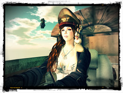 Diesepunk-02 (hekirekika2017) Tags: secondlife aviator pilot dieselpunk steampunk flightjacket vehicle airship headphone jpk