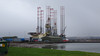 433 Öl Plattform vor Invergordon