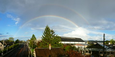 rainbow up (supermimil) Tags: rainbow france amboise station gare 2017 arcenciel meteo supermimil double twin dobble jumeaux panoramique