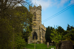 All Saints Church at Thornton-le-Dale (Geordie_Snapper) Tags: april birds canon5d3 canon70200mmf4islusm canon2470mm landscape northyorkshire people street thornyonledale
