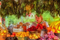 Vendeuse de Fruits (Xtian du Gard) Tags: vendeuse fruits vendor streetview portrait couleur color