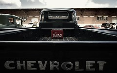 Trink Coca Cola! (liebeslakritze) Tags: chevrolet pickup oldtimer vintagecar cocacola coke chevy