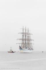 Kaiwo Maru (iPhilFlash) Tags: highkey vancouver kaiwomaru tugboat fraserriver water britishcolumbia garrypointpark sky steveston canada outdoors outdoor richmond tallship ca