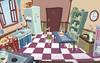 cocina clásica (wallmistwallpaper) Tags: armario clásica cocina cocinado comedor comida decoración despensa fregadero interior mesa mueble nevera