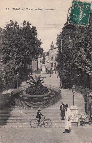 63. Blois - L'Escalier Monumental (c.1912)