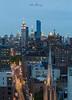 Mid Town Skyline (johnbacaring) Tags: nyc newyorkcity bluehour empirestatebuilding chryslerbuilding metlife bloomburg bloombergbuilding bloomberg 14thstreet 432park 432parkavenue