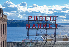 Pike Place Market (driko) Tags: market pikeplace pugetsound seattle sign