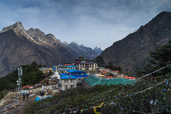 Thyangboche Monastery (Usuf Islam) Tags: monastery thyangboche himalayas nepal mountains