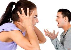 Hubby better explain (iggy62pop2) Tags: giantess shrinkingman sexy milf minigiantess tallwoman tiny man argue heightcomparison hands woman wife