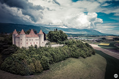 Chateau de Champvent, Switzerland (Clement Celma) Tags: champvent vaud suisse ch drone mavic