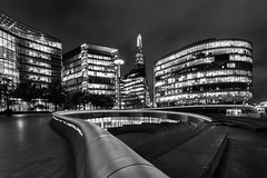 More London (Derek Robison) Tags: night london uk places blackwhite blackandwhite