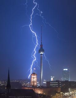 Thunderstorm over Berlin 2015