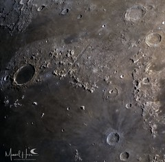 Northern Mare Imbrium (manuel.huss) Tags: moon crater mare imbrium detail surface color astronomy astrophotography space telescope