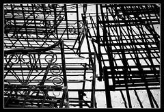 Metal Abstract (toletoletole (www.levold.de/photosphere)) Tags: fujixt2 marokko zagora morocco sw bw still stillleben