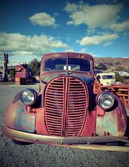 Burkes Pass - Old pickup truck (Lim SK) Tags: car old pickup burkes pass