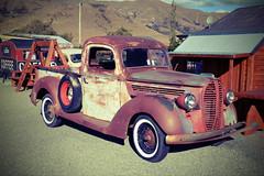 Burkes Pass - Vintage pickup truck (Lim SK) Tags: burkes pass vintage pickup