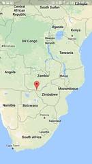 Livingstone, Zambia is at the marker (Bill 1.75 Million views) Tags: africa zambia zambezi zimbabwe livingstone samproject muzya goats zambeziriver