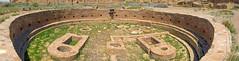 Kiva of Chetro Ketl Great House, Chaco Canyon NM (Mark Kaletka) Tags: ancient kiva newmexico desert cliffs nationalpark panorama pano chacotrip chetroketl southwest ceremonial ceremony chacocanyon canyon chaco chacoculture nageezi unitedstates us