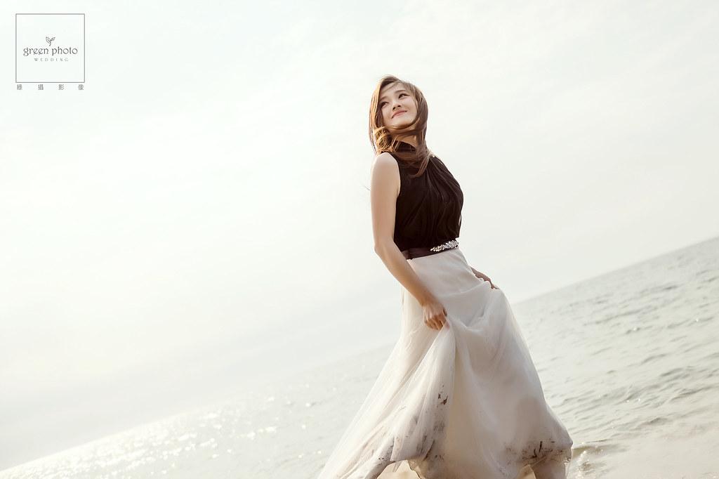 [自主婚紗] 一個人的婚紗照