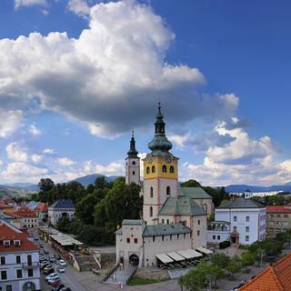 Picturesque look of Hrad Banská Bystrica