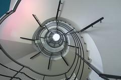 SPIDER (Elbmaedchen) Tags: staircase stairs stufen treppenauge escaliers escaleras spider roundandround berlin prenzlau