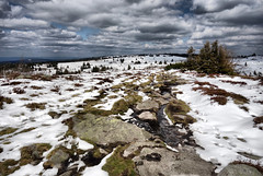 Vosges (denismartin) Tags: vosges vosgesmountain spring primavera winter snow hd cloud sky alsace routedescretes gazondufaing lacdestruites lacvert lake tree hiking lorraine france