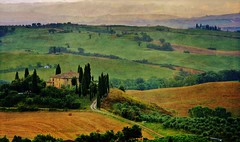 beautiful tuscany (Rex Montalban Photography) Tags: rexmontalbanphotography tuscan countryside tuscany italy europe poderebelvedere valdorcia sanquiricodorcia texture