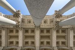 Vertigine Inversa (Roberto -) Tags: rome roma architecture architettura san paolo fuori mura tokina 1120 nikon d3200 colonna capitello column capital