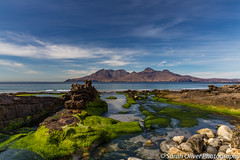 Island hopping,,,, (SarahO44) Tags: 6d algae bright canon eigg green highlands islands isle kingdom moss nature ocean outdoors rocks rum sands scotland sea singing uk united beach scottish