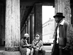 Hats (Hans-Jörg Aleff) Tags: berlin blackwhite hats streetphotography deutschland
