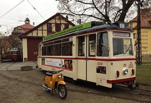 Simson, Schwalbe Naumburger Straßenbahn