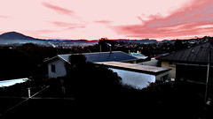 Loudon St Pink Sky (JayVeeAre (JvR)) Tags: ©2017johannesvanrooy dunedin dunedinnewzealand johannesvanrooy johnvanrooy gimp28 picasa3 httpwwwflickrcomphotosjayveeare johnvanrooygmailcom gimpuser gimpforphotography canonpowershotsx60hs