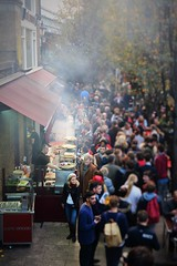 A Busy Day (nellia.sadler) Tags: borough londonbridge people travel picture nikon portrait busy tourism food eating market focus depth apperture cooking cook london bridge city england view daytime day october autumn cold fire smoke smoking fast
