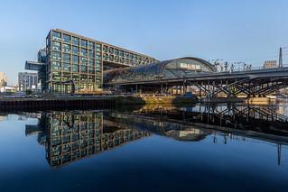 Berlin Hauptbahnhof, Ostseite