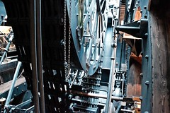 Engine SS Great Britain (rustyruth1959) Tags: nikon nikond3200 tamron16300 bristol uk ship engine ssgreatbritain indoor wheel chain maritimeengine steamengine vessel stokers steam power coal brunel thomasguppy