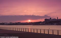 Mountbatten Hoe Sunset (scott calnon) Tags: sunset lowsun horizon ruleofthirds water sun orange beautiful moody dark dust reflection moodgrams instagood happiness nikon photography plymouth devon d810 swisbest stunning stunner