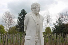 """Shot at Dawn""  Memorial - National Memorial Arboretum (Lark Ascending) Tags: soldier youth statue memorial shotatdawn cowardice desertion offender capitalpunishment nationalmemorialarboretum staffordshire ww1"