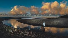 Ke'e Beach, Kilauea, Kaua'i, Hawai'i (MegaloPhotography) Tags: gopro hero4black keebeach kauai kilauea hawaii beach shore sunset twilight sand ocean landscape landscapephotography visithawaii gohawaii