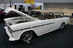 1955 Chevy Nomad (bballchico) Tags: 1955 chevrolet nomad stationwagon custom portlandroadstershow carshow davekindig kindigitdesign 1950s