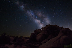 Milky Way over Joshua Tree National Park, California as seen from the Hidden Valley Picnic area. (Donald Quintana Nature Photography) Tags: joshuatreenationalpark california sky night galaxy universe astronomy astrophotography milkyway constellation summer outerspace photography nightsky longexposure