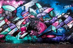 Street Art - Bondi Beach (ludovic faucillon) Tags: rouge fuji fujifrance fujifilm officialfuji xt2 xf sydney australia beach wildlife blue bondi junction coogee holiday amazing tag graffiti graphitti draw paint street art