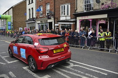 Tour De Yorkshire Stage 2 (713) (rs1979) Tags: tourdeyorkshire yorkshire cyclerace cycling racedirection tourdeyorkshire2017 tourdeyorkshire2017stage2 stage2 knaresborough harrogate nidderdale niddgorge northyorkshire highstreet
