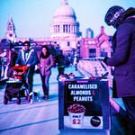 Street seller on Millennium Bridge thumbnail